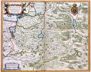 Карта Московии И. Массы