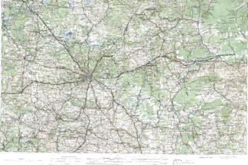 Военно-Дорожная карта1888 л. 16 Ярославль