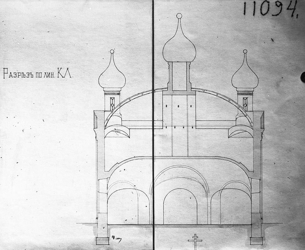 Проект церкви Покрова Богородицы