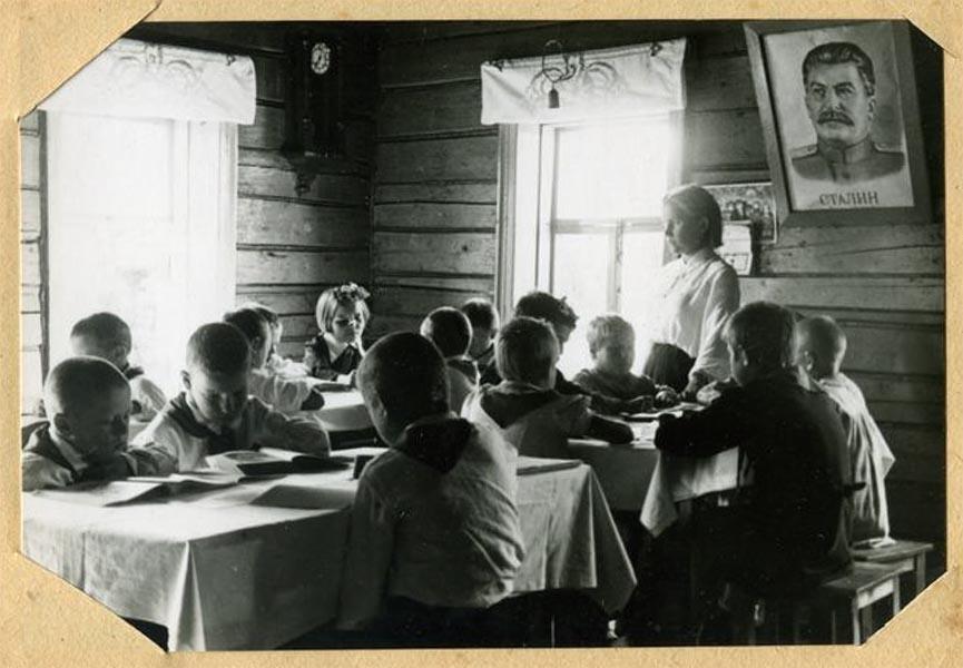 Детский дом 159 в селе Макарово