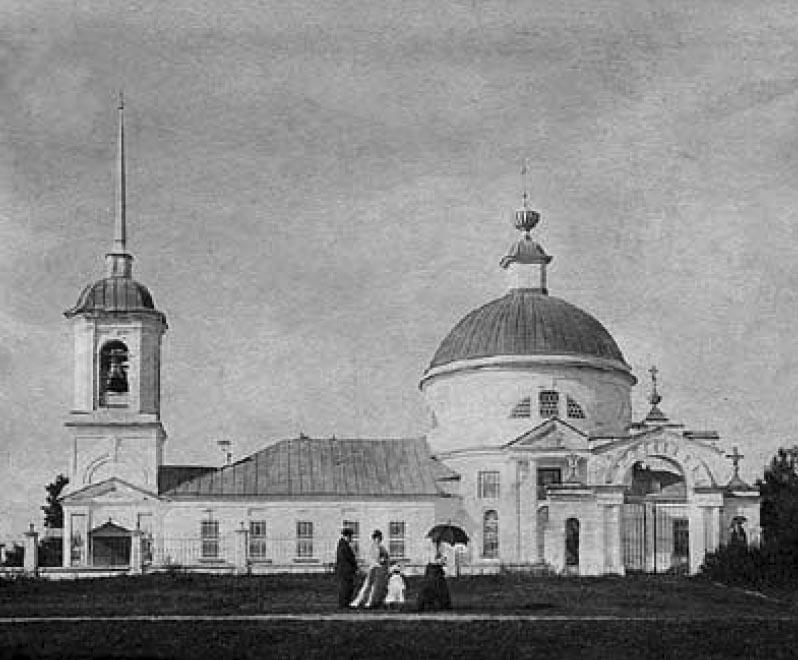 Церковь Корсунской Иконы Божией Матери в селе Дегтево