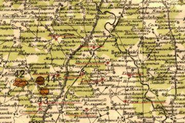 Приходы Шопшинской волости