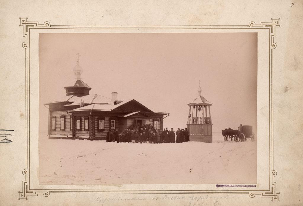 Церковь в д. Пестрецово