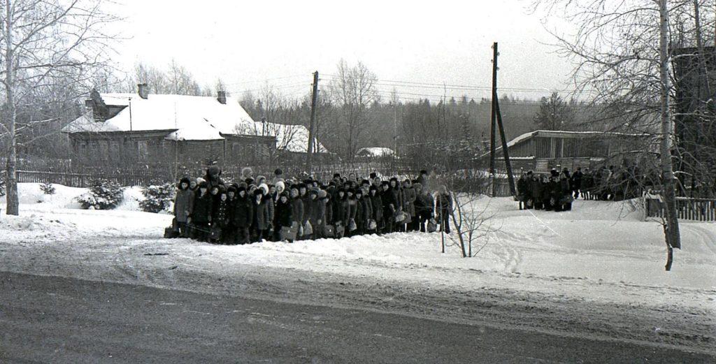 Школа в селе Шопша