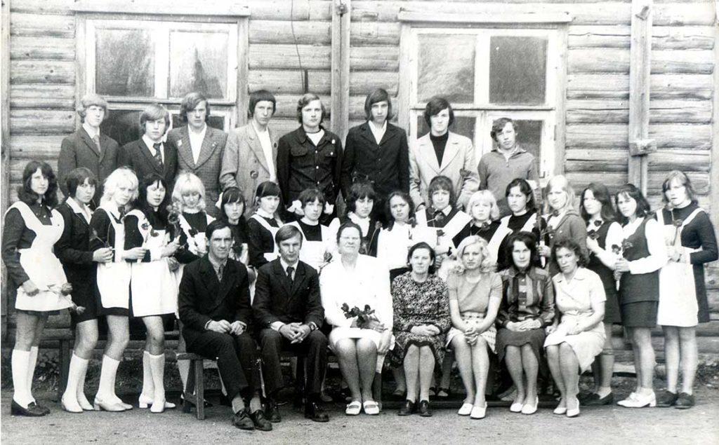 Шопшинская средняя школа
