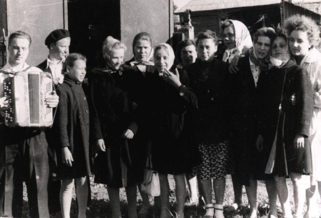 Фото 1962 года. Агитбригада
