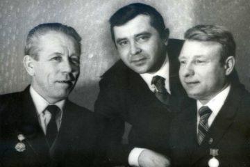 Юрий Алексеевич Скребков, Николай Иванович Новиков, Борис Иванович Морозов