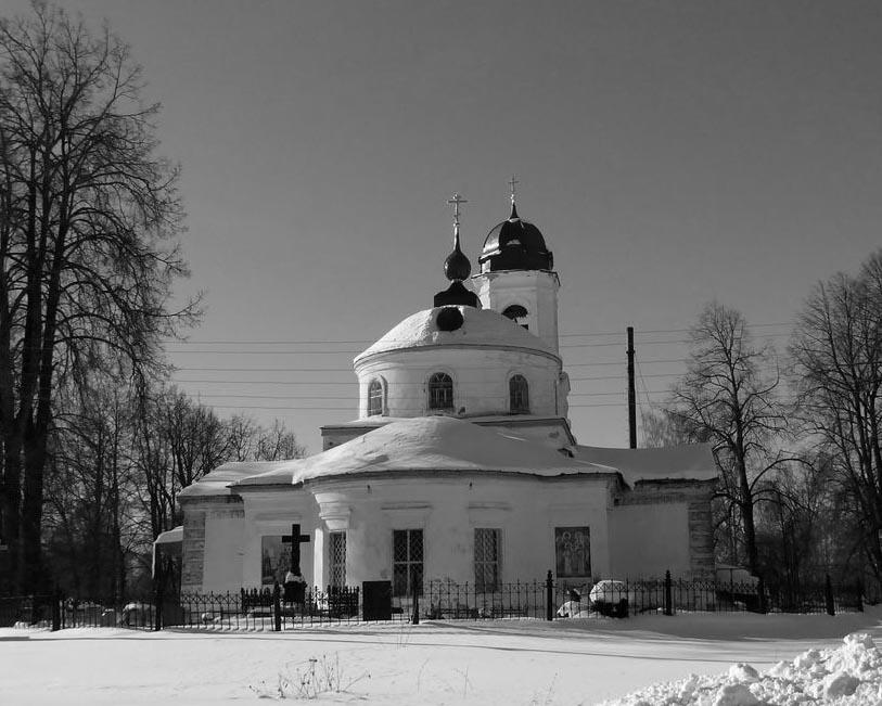 Церковь Боголюбской божией матери в селе Великом
