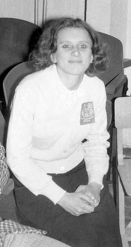 Фото 1977г. Рубан Валентина Яковлевна