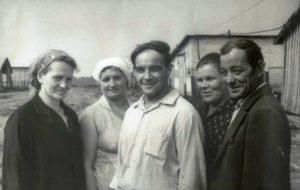 Фото 1980-х Копылова Ф.П., Чистякова В.И., Кочигин В.Н., Исаичева Н.С., Лазарев В.Е.