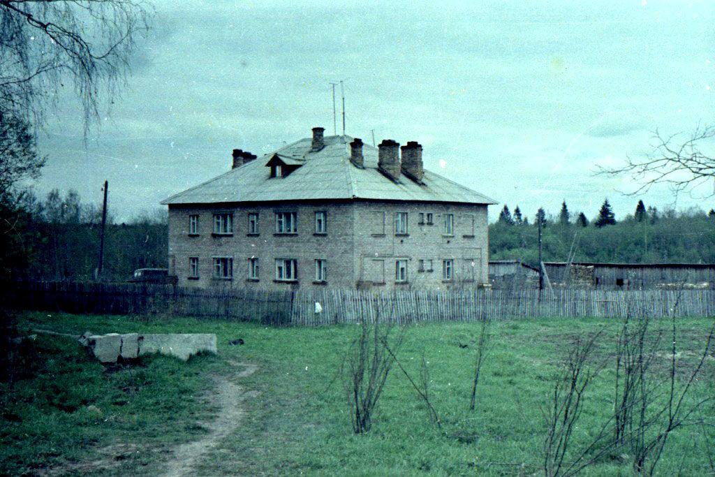 Фото 1974г. Учительский дом