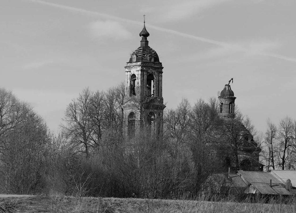 село Горе-Грязь церковь Михаила Архангела
